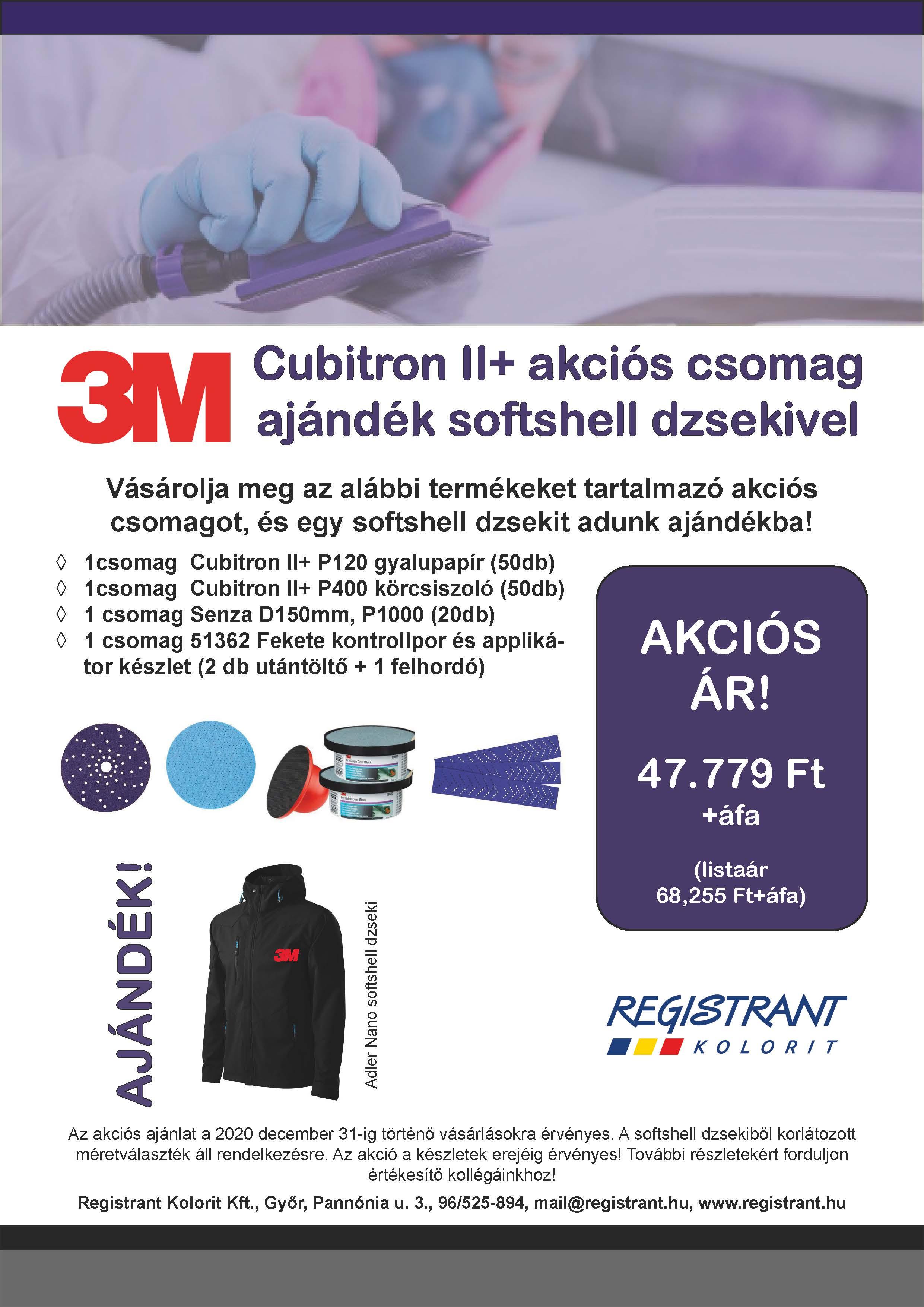 3M Cubitron akció ajándékokkal!