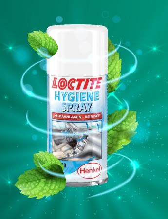 Frissítse fel autóját! Loctite higiéniai spray akció